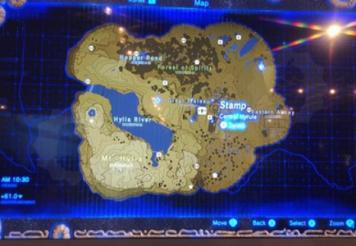 【朗報】新作ゼルダの全体マップが広すぎる