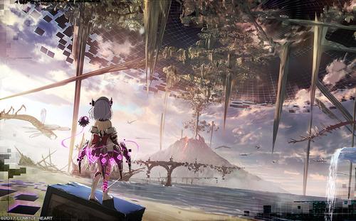 PS4「デス エンド リクエスト」 コンパイルハート入魂の完全新作RPG 最新PVが公開!!