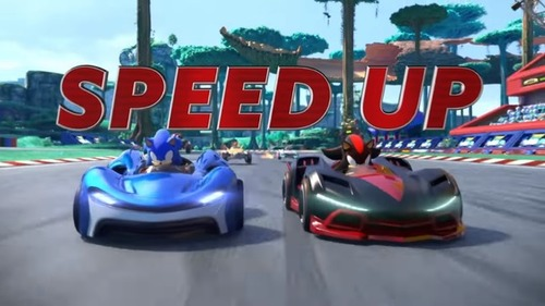 Switch/PS4/XB1「チーム ソニックレーシング」5/21明日発売!スピードアップトレーラーが公開!