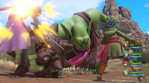 【画像】「ドラクエ11」の新キャラや戦闘画面の最新スクリーンショット公開!PS4版 3DS版 どっちがいい?