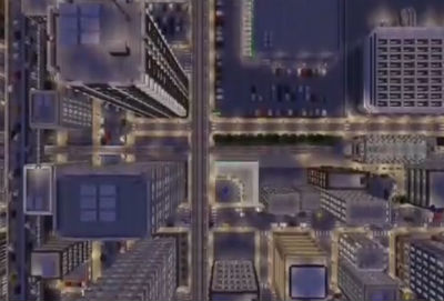 PC「マインクラフト」 製作期間3年、凄いクオリティの巨大都市『舞倉市ver.2.0』配布!! ユーザーマップ
