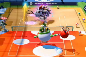 Wii U「マリオテニス ウルトラスマッシュ」 ほねクッパ & クッパJr. 紹介プレイ映像が公開!