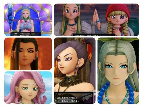 【悲報】ドラクエ11の女性キャラクター、年上のお姉さんだらけだった模様