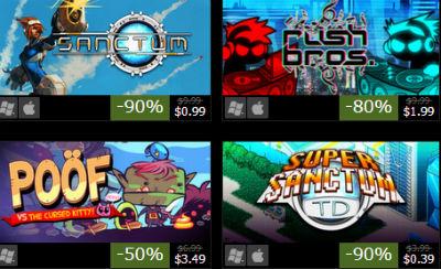 Steamで1週間限定セール実施!! インディー系など面白そうなB級タイトルがズラリ激安に!
