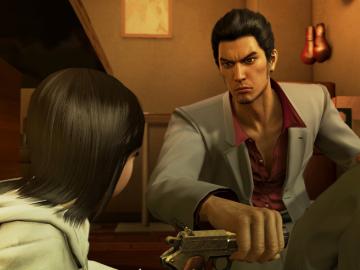 PS4/PS3「龍が如く 極」 桐生一馬と真島吾朗のゲーム紹介PVが公開!