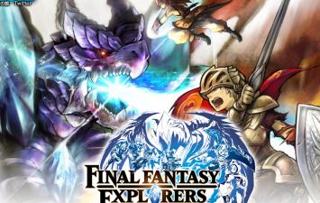 3DS「ファイナルファンタジー エクスプローラーズ」 発売時期は今冬、戦闘シーンを含むプレイ動画が初公開!!
