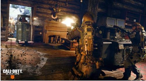 「COD:ブラックオプス4」売り上げ割合  PS4版58%、XboxOne版41%、PC版1%