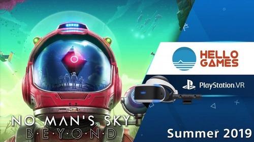 【速報】PSVR「ノーマンズスカイ ビヨンド」が2019年夏発売予定!【State of Play】