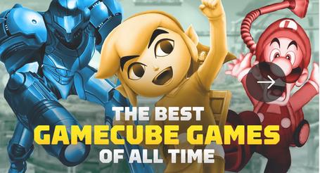 【本家IGN】ゲームキューブソフトランキングベスト25【スタッフ投票】
