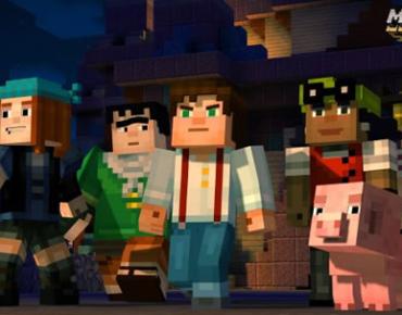 「Minecraft: Story Mode」 物語になったマインクラフト、ライブデモ映像が解禁!