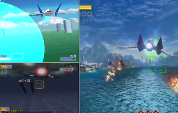 WiiU「スターフォックス ゼロ」 初代スーファミ版 / 64版 / WiiU版 比較動画が公開、こんなに違う!!