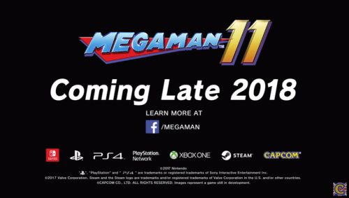 【速報】「ロックマン11」 PS4/NintendoSwitch/XboxOne/Steamで2018年発売決定きたあああぁぁぁ!!