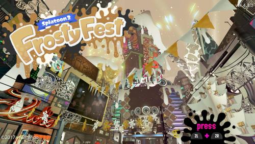 【郎報】「スプラトゥーン」世界合同クリスマス&ニューイヤーフェス『Frosty Fest』が開催決定!お題は『年末年始は誰と過ごす? 家族 vs 仲間』、特別なギアも配信!!