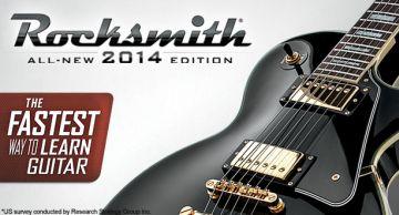 本物ギターを繋げてプレイできる本格リズムゲー 「ロックスミス」新作、「ロックスミス 2014」がPS4/XboxOne向けに登録!!