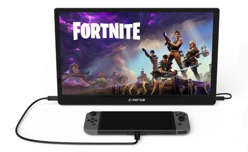 【朗報】Nintendo Switch対応 モバイル液晶モニタが開発中!USBケーブル1本で接続可能と超お手軽