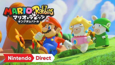 【ニンダイ】Nintendo Switch「マリオ+ラビッツ キングダムバトル」の国内発売日が2018年1月18日に決定!PVも公開