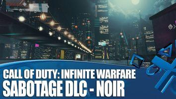 """【朗報】PS4「CoD:インフィニット・ウォーフェア」 ブレードランナーっぽい暗い都市 """"Noir""""マッププレイ映像が公開!"""