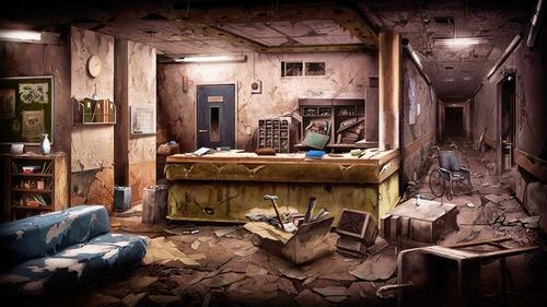 D3パブリッシャー、廃病院のイラストが描かれた謎のカウントダウンサイトを公開!新作はホラーでSwitch向けに発売か
