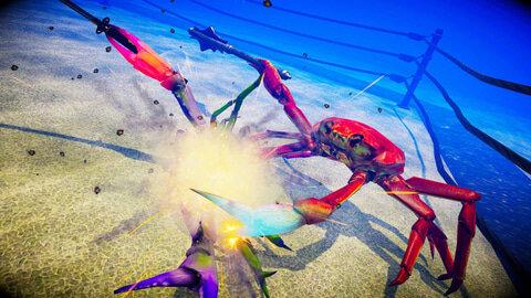 【カニゲー】Swtich用アクション「カニノケンカ -Fight Crab-」ゲームイベント出展紹介映像が公開!紹介8/20発売