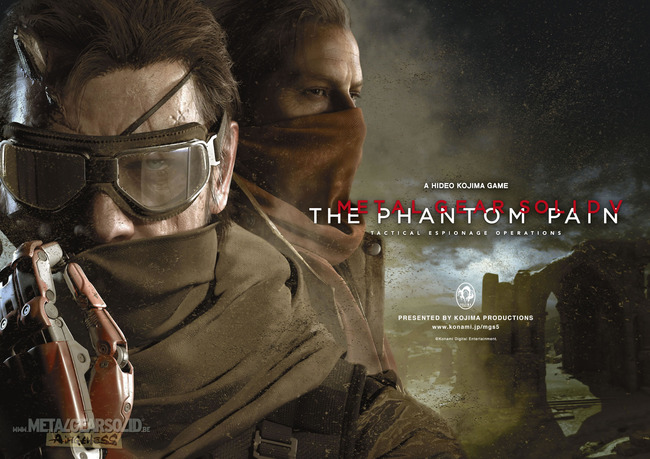 「METAL GEAR SOLID V : The Phantom Pain」500万本達成!!売れすぎ!!!!