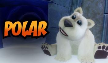 PS4「クラッシュ・バンディクー N. Sane トリロジー」 愛くるしい白熊ポーラにスポットを当てた最新トレーラーが公開!!