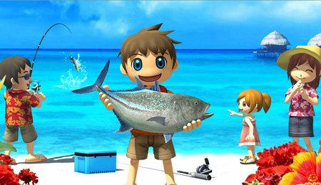Nintendo switchに釣りゲーが欲しい!!! HD振動で作ってくれ!