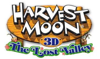 3DS「牧場物語ハーベストムーン3D ロストバレー」 発売決定!