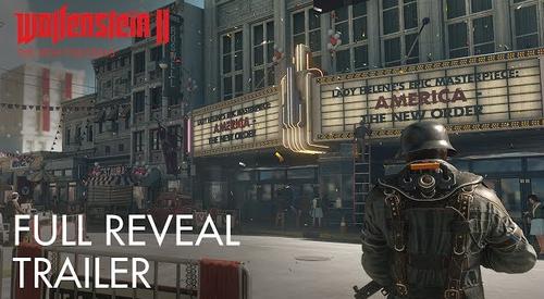 【速報】「ウルフェンシュタイン2」 10/27発売決定、E3トレーラー公開!映画だこれ