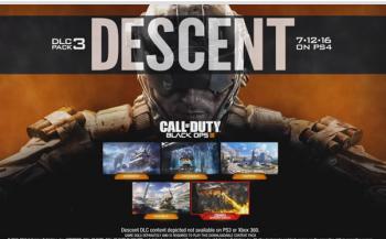 "「CoD: Black Ops III」 第3弾DLC""Descent""が正式アナウンス、新Zombiesトレーラー公開!"