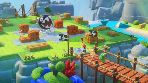 NS「マリオ+ラビッツ キングダムバトル」 新たなゲームプレイ映像や最新ショットが公開!