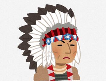 インディアンをモチーフにしたキャラっておるんか?
