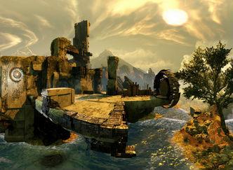 大作FPS「Destiny」 このBungie感がサイコーにたまらない雄大なパノラマショット