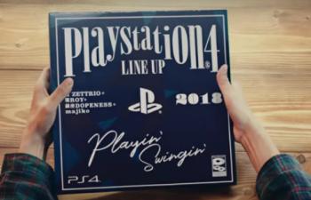PS4のタイトルラインナップを紹介するポップなMV「Playin' Swingin'」が公開!
