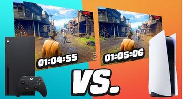 【PS5 vs Xbox series X】圧倒的ロード時間に大差が判明!どちらが速いか?