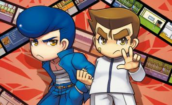 3DS「ダウンタウン熱血物語SP」 公式サイトオープン、PV第1弾が公開!