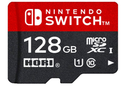 HORI 「microSDカード for Nintendo Switch 128GB」 スイッチ向けに待望の大容量microSD 新モデル発売決定!!
