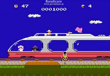 ゲームとかで列車の上で戦う演出wwww