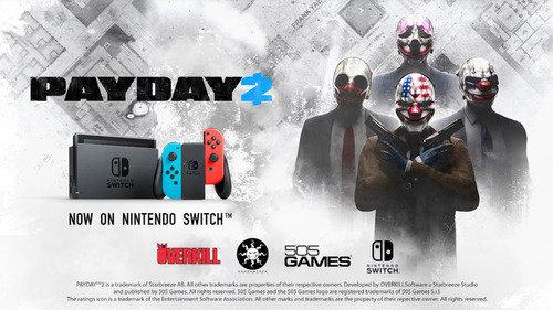 【悲報】「PAYDAY 2」の会社、売上不振で倒産 Switch版「PAYDAY 2」発売は絶望的