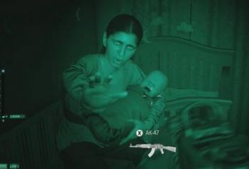 【悲報】CODさん、ゲーム内に赤ん坊を出して撃つと怒るという臭い演出をしてしまう