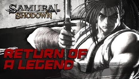 「サムライスピリッツ」最新トレーラー『Return of a Legend』が公開!