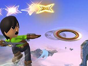 「大乱闘スマッシュブラザーズ 3DS/Wii U」 Miiファイターの剣術タイプが使える3種の飛び道具判明!!