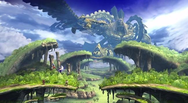 「ゼノブレイド」のガウル平原がすごい