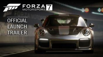 「Forza Motor Sports 7」 現行最高峰クオリティのレースゲー、デモ版配信開始!ローンチトレイラーも公開
