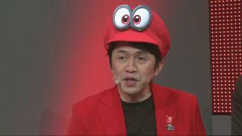 「スーパーマリオ オデッセイ」 小泉Pが自ら帽子を被ってゲーム紹介するプレゼン映像