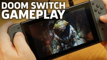 【速報】スイッチ版「DOOM」のプレイ動画が来た!携帯でここまでできちゃうって本気で凄くない!?