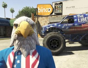 USA!USA! 「GTAオンライン」 独立記念日を祝う新コンテンツが突如配信