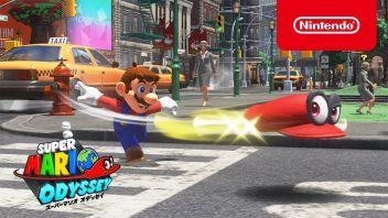 【朗報】「スーパーマリオ オデッセイ」 最新紹介映像が公開!マリオと帽子を分けて操作する2人協力プレイモード搭載で神ゲー確定!!
