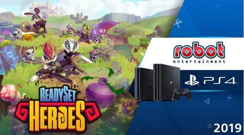 【速報】PS4「ReadySet Heroes」見下ろし視点で展開されるダンジョン探索アクションRPG 発売決定!さらに対戦要素も!?【State of Play】
