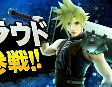 【速報】WiiU/3DS「スマッシュブラザーズ」に「FF7」のクラウド参戦決定! ・・・なぜクラウド? スマブラ最後の特別番組が12月放映