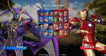 PS4/XB1/PC 「マーベル VS. カプコン:インフィニット」 にヴァンパイアシリーズの『ジェダ』参戦!ガモラとジェダのエキシビジョンマッチ映像が公開!!